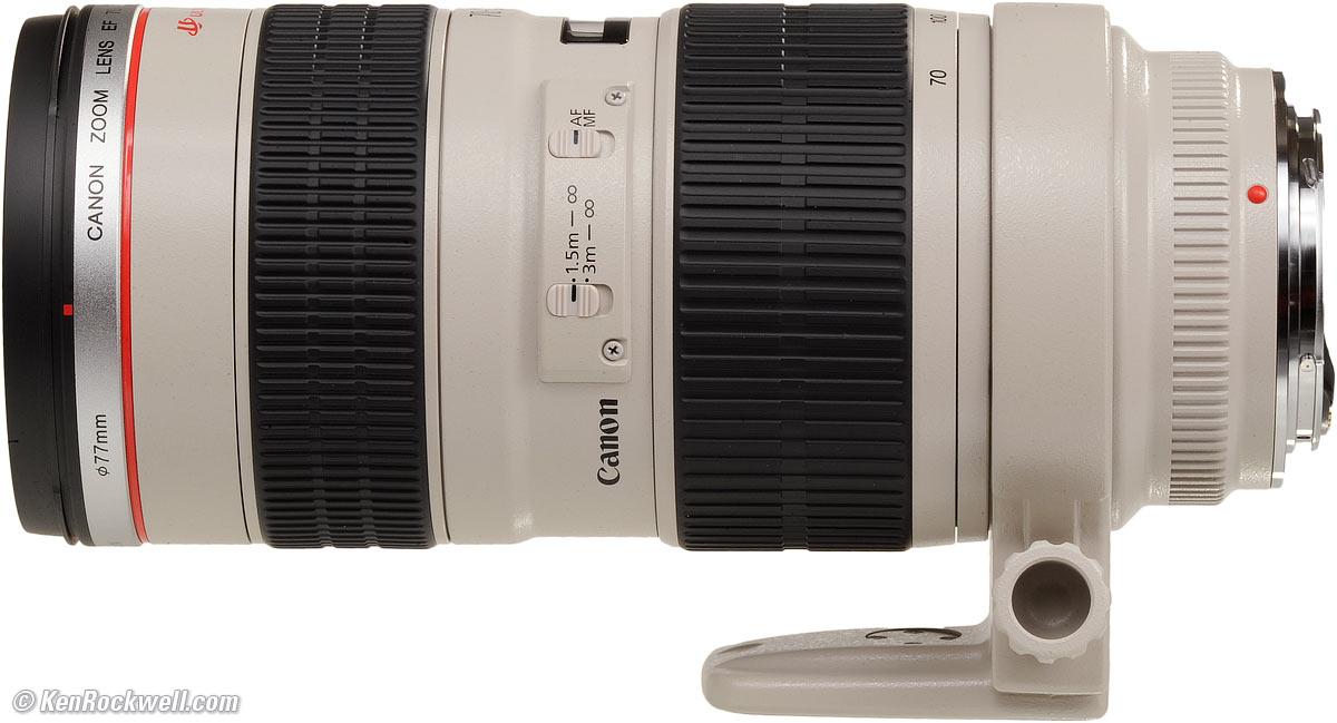 70-200mm Canon f2.8